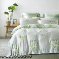 Sleep Buddy Set Sprei dan Bed Cover Breeze Organic Cotton - King Size
