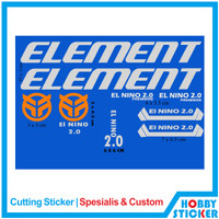 Decal Frame Element Sticker MTB Stiker Sepeda Custom