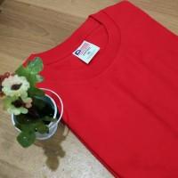 Kaos Polos New States Apparel Premium Cotton 7200 Red