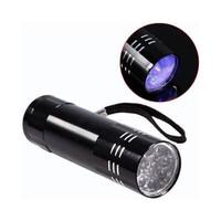 LAMPU UV MODEL SENTER TANGAN 9 LED - SINAR: ULTRAVIOLET