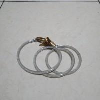 kunci sepeda spiral mirip* taiwan*. kepala kuningan