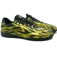 sepatu futsal specs iluzion in gold black sehat bugar