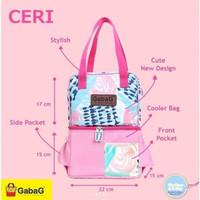 Cooler Bag Gabag Ceri / Coolerbag Gabag Ceri Free 2 Ice Gel