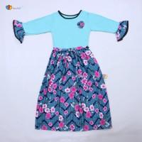 Long Dress Labella Kids Size 5-6 Tahun / Baju Anak Perempuan Dres