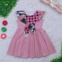 Dress Batik uk Bayi 0-12 Bulan / Dres Anak Perempuan Pakaian Baju