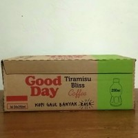 Good Day Tiramisu Bliss Coffee Botol Pet - 250 ml