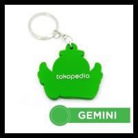 Gantungan Kunci Tokopedia - Gemini Terjamin