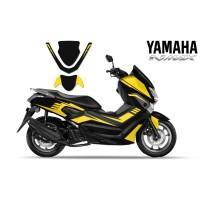 DECAL STICKER MOTOR YAMAHA NMAX YELLOW LINE EDITIONS