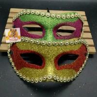 Topeng Glitter - Topeng Pesta - Party Mask glitter Topeng Putri malam
