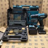 Paket Mata Bor 70pc Mesin Bor Baterai Cordless Drill Makita HP333D