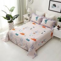 Wajo | 160 200 CM kain seprei sprei anak bed cover ranjang halus murah