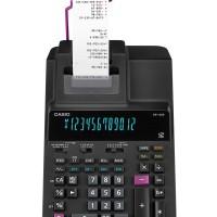 Kalkulator Save Time with Reprint Function CASIO DR-120R-BK - Hitam