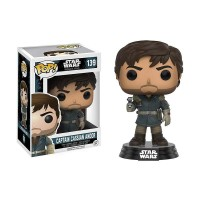 PROMO Action Figure Funko Pop Starwars Rogue One Captain Cassian Andor