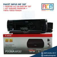 Paket Printer Canon All in One MP 287 + Infus Tabung Premium MP287