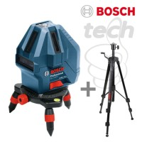 "Laser Level Mini Bosch GLL 5-50 X Professional + Tripod 5/8"""