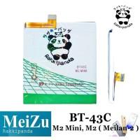 Baterai Meizu M2 Mini Meizu M2 Meilan 2 BT43C Double IC Protection