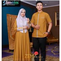 ZEMA COUPLE - Dress Sarimbit - Gamis Kekinian - Baju Pasangan Murah