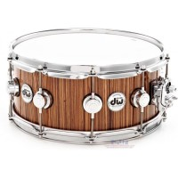 DW SNARE DRUM COLLECTORS VLT COLL SP Exotic Zebra Snare Drum