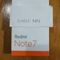 Xiaomi Redmi Note 7 4/64 GB garansi resmi TAM - Black