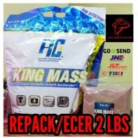 RC KINGMASS KING MASS GAINER REPACK ECER ECERAN 2 LBS LB 2LBS 2LB bali
