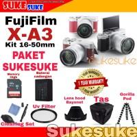 Fujifilm X-A3 Kit 16-50mm OIS PAKET HEMAT