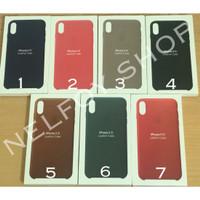 iPhone XR Leather Case Cover Kulit Hardcase Hard Original Design