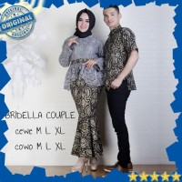 Kebaya Modern Hijab Remaja Style Modis Cantik Brokat Aurora Two Tone T