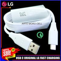 Kabel Data LG V20 V30 V30+ ORIGINAL 100% USB C Fast Charging