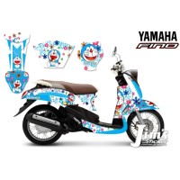 DECAL STICKER MOTOR YAMAHA FINO DORAEMON EDITIONS