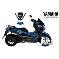 DECAL STICKER MOTOR YAMAHA NMAX SKY 46 CUSTOM