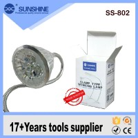SUNSHINE SS-802 Clamp Type Working Lampu Led Jepit