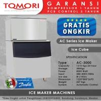 Mesin Pembuat Es Kubus AC-3000 TOMORI ICE CUBE
