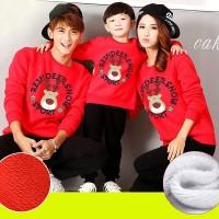 Hoodie Family Couple Baju Keluarga 1 Anak Lengan Panjang Deer 11165