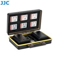 JJC BC-3SD6 Memory Card Case & Multi-Function Battery Case