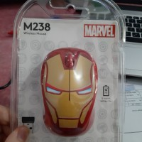 Mouse Logitech Wireless M238 Marvel Collection