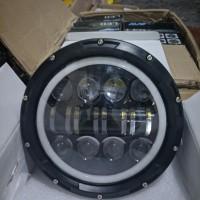 Lampu Depan Headlamp Daymaker 7 inch Harley Jeep W175 Rubicon