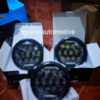 Lampu Depan Headlamp Daymaker Spider 7 inch Harley w175 JEEP Wrangler