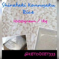 Low Carbs Shirataki Konnyaku Rice / Beras Shirataki uk 1kg
