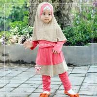 Jessy Legging Set - Baju Muslim Balita - Baju Paling Kekinian Sz 1-2th