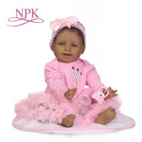 Boneka Reborn Negro Pink Dress / Boneka Bayi / Boneka Lucu/ Boneka NPK