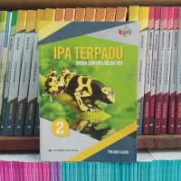 Buku Ipa Terpadu Kelas 2 SMP/MTs Erlangga