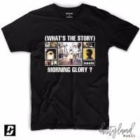 Kaos Musik OASIS - WHATS THE STORY MORNING GLORY