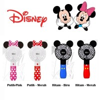 Kipas Portable Kipas Genggam Kipas Mickey Minnie Mouse