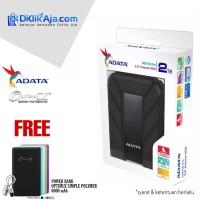 Hard Disk Eksternal HDD ADATA HD 710 Pro 2TB USB3.1 Black Grnsi 2Tahun