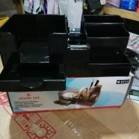 Tempat pensil meja (Desk Set Microtop M.8312)