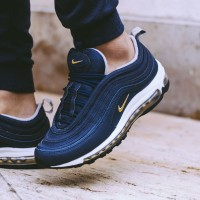 Sepatu Nike Air Max Airmax 97 Midnight Navy Premium Original