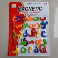 Magnetic Huruf Hijaiyah - Edukatif Mainan Anak - Magnet Arab Edukatif