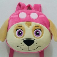 TAS RANSEL BONEKA PAW PATROL SKYE FACE BACKPACK