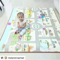 Promo Karpet bayi PARKLON Korea Baby Playmat PE Roll alas bermain play