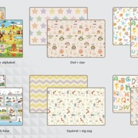 Promo Parklon PE Roll Mat Double Side Tebal 1,5 CM / Karpet Bayi Korea